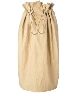 Stella Mccartney | Drawstring Waist Skirt Size 40