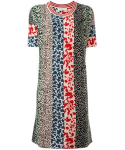 Sonia Rykiel | Patchwork Knit Dress Medium Silk/Cashmere