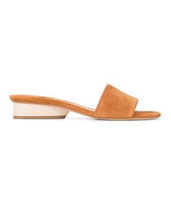 Paul Andrew | Lina Sandals 38.5 Goat Skin/Calf Suede/Leather