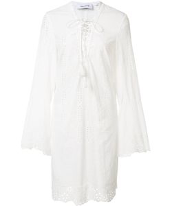 Yigal Azrouel | Embroide Eyelet Dress 0 Cotton
