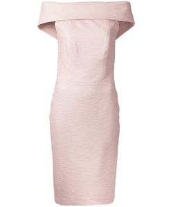MANNING CARTELL | First Blush Off-Shoulders Dress 6 Cotton/Nylon/Spandex/Elastane