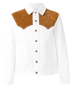 Umit Benan | Western Shirt Jacket 50 Cotton/Leather