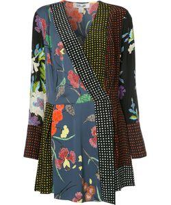 Diane Von Furstenberg | Wrap Front Print Dress Size Small