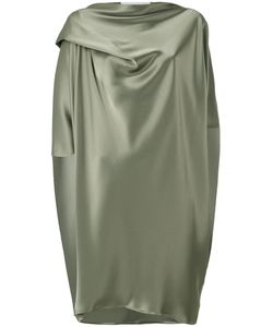 Gianluca Capannolo | Silky Draped Dress