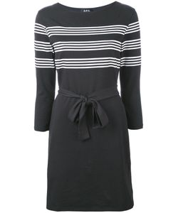 A.P.C. | A.P.C. Striped Print Belted Dress