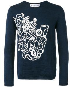 Comme Des Garcons | Comme Des Garçons Shirt Abstract Print Jumper Size Medium