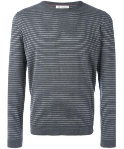 Brunello Cucinelli | Stripped Sweatshirt 54 Cotton