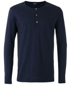 Ron Dorff | Buttoned Neck Longsleeved T-Shirt Size Xl