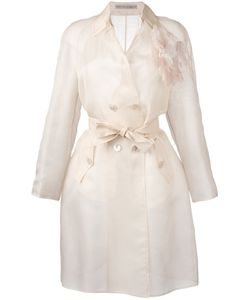 Ermanno Scervino | Belted Lightweight Coat 46