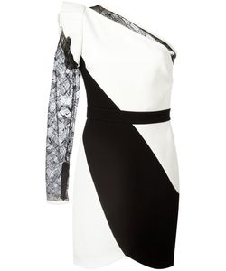 Elie Saab | One-Shoulder Dress 40 Polyester/Viscose/Nylon/Silk