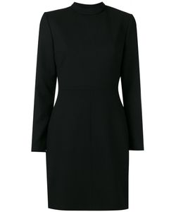 Saint Laurent | Open Back Shift Dress 38 Silk/Wool