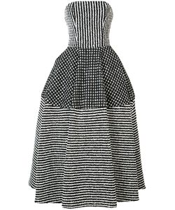 CHRISTIAN SIRIANO | Strapless Maxi Dress