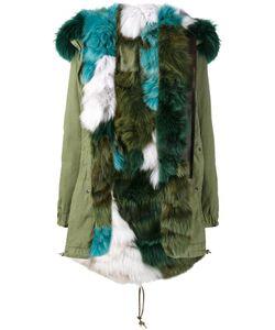 MR & MRS Italy | Fur Lined Parka Coat Small