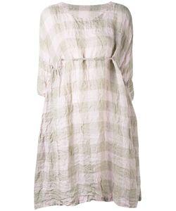 DANIELA GREGIS | Loose-Fit Checked Dress