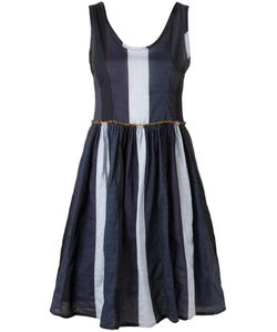 AMIR SLAMA | Panelled Dress Medium Cotton