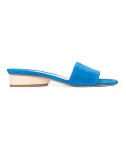 Paul Andrew | Chunky Heel Sandals 38 Acetate