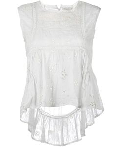 Mes Demoiselles | Valet Embroidered Top