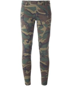Faith Connexion | Camouflage Print Leggings 36 Cotton/Polyurethane