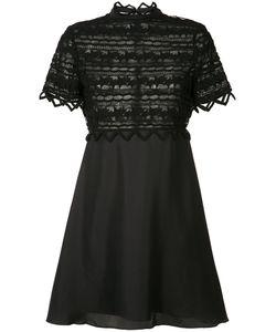 Zac Zac Posen | High Neck Lace Dress Size 4