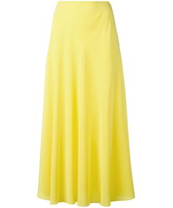 Cedric Charlier | Cédric Charlier A-Line Midi Skirt 42 Silk