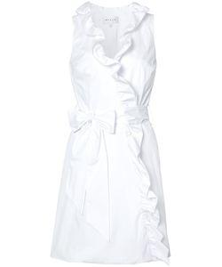 Milly | Ruffle Trim Wrap Dress
