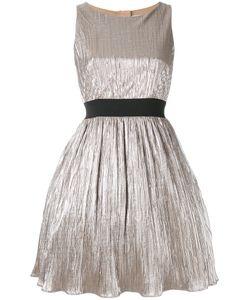 Manoush | Плиссированное Платье С Отделкой Металлик