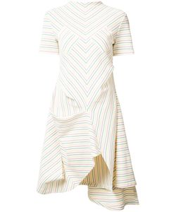J.W. Anderson | J.W.Anderson Multi Stripe Asymmetric Dress