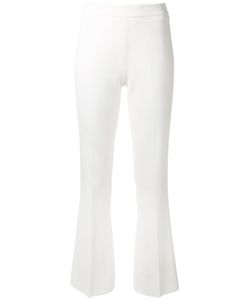 Giambattista Valli | Tailo Fla Trousers 42 Cotton/Viscose/Spandex/Elastane/Acetate