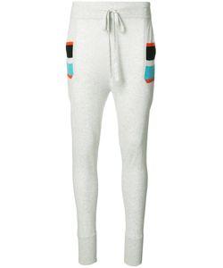 Thomas Wylde | Paula Track Pants Small Silk/Cotton/Viscose