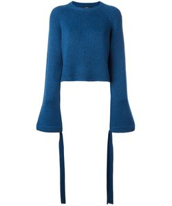 Ellery | Fla Sleeve Cropped Jumper Medium Merino