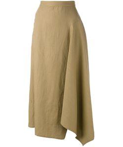 Yohji Yamamoto   Long Draped Skirt