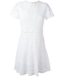 Michael Michael Kors   Leopard Knit Flared Dress 2