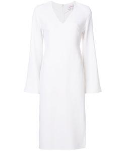 Cushnie Et Ochs | Платье С Длинными Рукавами И Разрезом