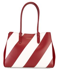 Tammy & Benjamin | Striped Tote Bag Calf Leather/Suede
