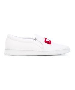 Joshua Sanders | Super Fresh Slip-On Sneakers Cotton/Leather/Foam