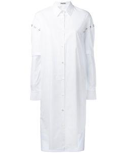 AALTO | Eyelet Detail Shirt Dress