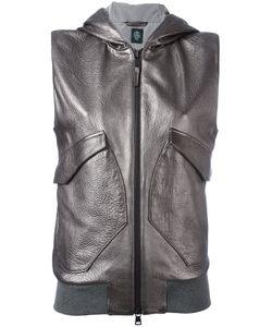 Eleventy | Sleeveless Hooded Jacket Size 46