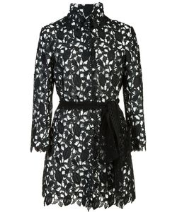 Monique Lhuillier | Embroide Long Jacket 14 Polyester/Nylon