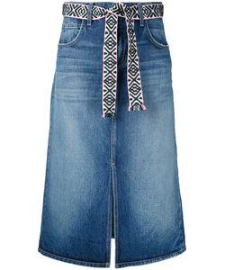 Current/Elliott | Midi Denim Skirt Size 26