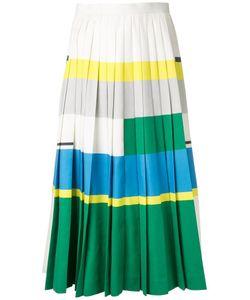 ENFÖLD | Enföld Block Colour Pleated Skirt 38 Polyester