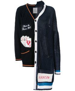 Maison Mihara Yasuhiro   Combined Knit Cardigan