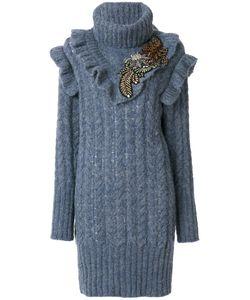 Miu Miu | Короткое Вязаное Платье