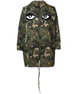 HACULLA | Camouflage Print Coat Xl Cotton