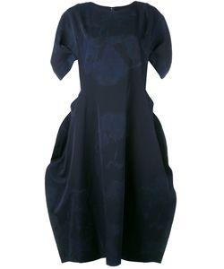 Comme Des Garcons | Comme Des Garçons Stain Print Draped Dress