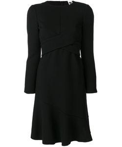 Missoni | Расклешенное Платье С Перекрестной Отделкой M