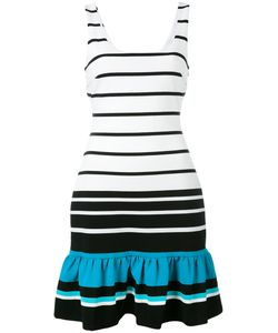 Michael Michael Kors | Striped Frill Hem Dress Size 6