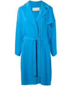 Cedric Charlier | Cédric Charlier Belted Midi Coat Size Small