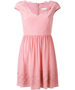 Red Valentino | Scallop Tea Dress