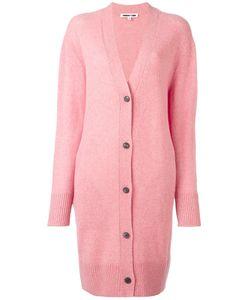 Mcq Alexander Mcqueen   Long V-Neck Cardigan Medium Wool/Cashmere