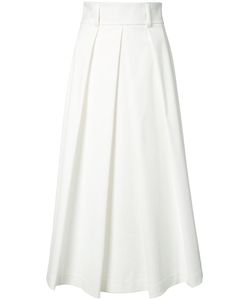 Tibi | Flared Cropped Trousers 4
